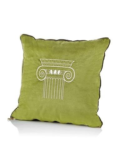 The Mia Dekoratif Yastık Yeşil